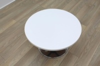 White Round Table - Thumb 2