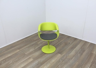 Swivel Green Reception Chairs