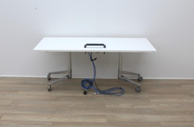 Wiesner Hager Folding/Training Table With Power/Data