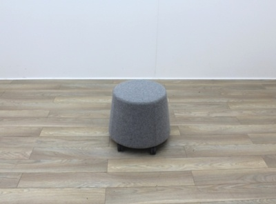 Orangebox Small Stool Grey Fabric