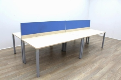 Hali Maple Office Bench Desking
