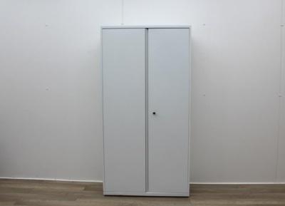 White Double Door Cupboard