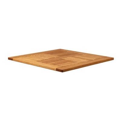 New INSIGNIA Solid Robinia Wood 800mm Square Table Top