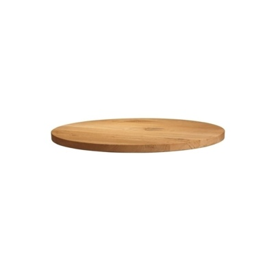 New Unfinished Character Superior Grade Oak 900mm Round Table Top