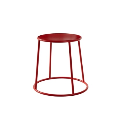 New MAX 45 Red Industrial Designer canteen café Low Stool