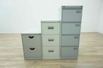 All Brands & Sizes - Grey Metal Office Filing Cabinets