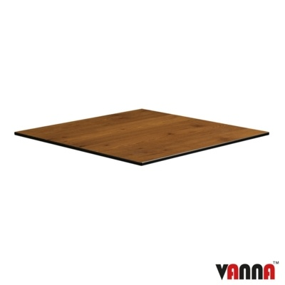 New EXTREMA Wood 790mm Square Table