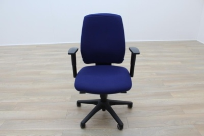 Senator Torasen Blue Fabric Office Task Chairs