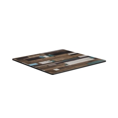 New EXTREMA Driftwood 690mm Square Table