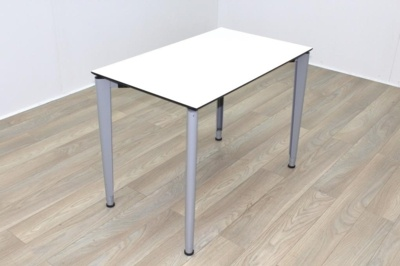 Techo Citis White 1000mm Flip Top Folding Office Meeting Table