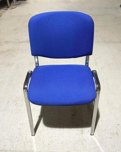 New Blue Fabric Meeting Chairs
