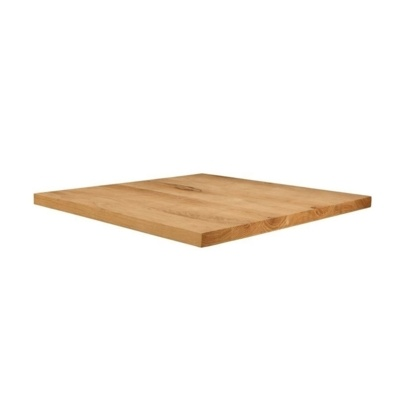 New Unfinished Character Superior Grade Oak 900mm Square Table Top
