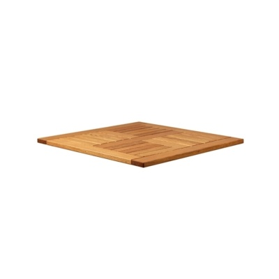 New INSIGNIA Solid Robinia Wood 600mm Square Table Top