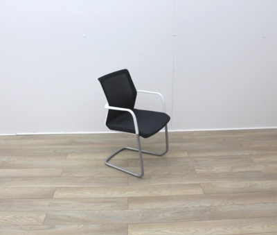 Orangebox Meeting Chair With Black Fabric