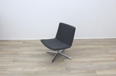 Dark Grey Reception Chairs