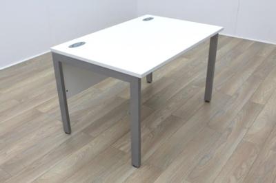 New Cancelled Order White 1200mm Straight Bench Leg Office Desks