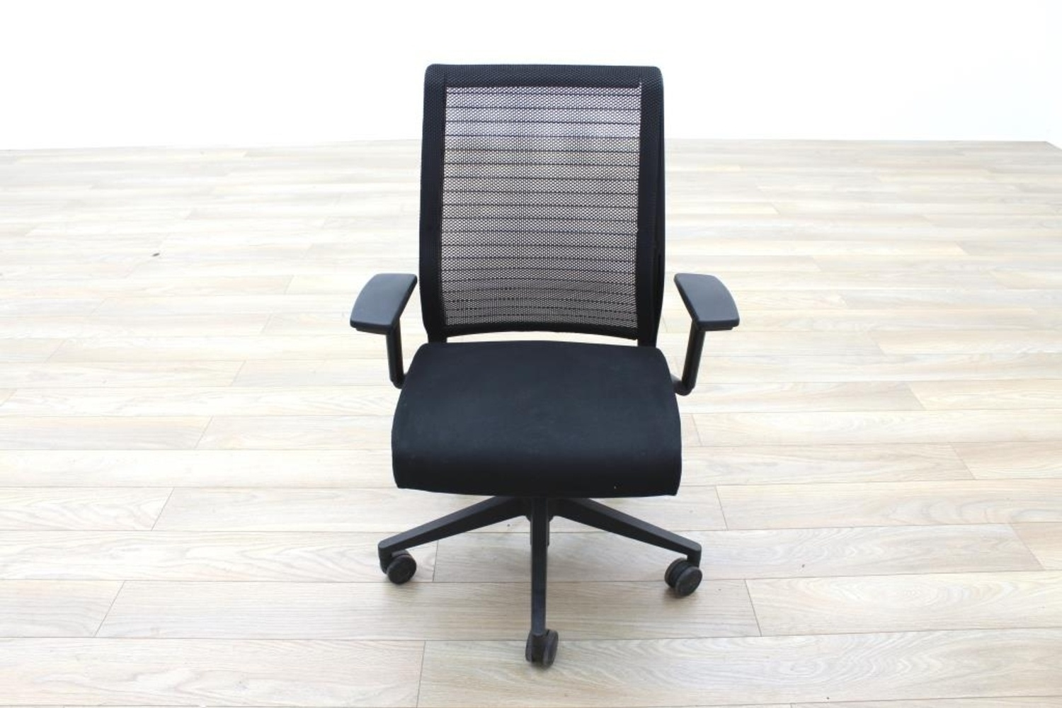 steelcase think black mesh fabric office task chairs ebay