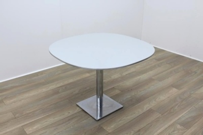 Aluminium Edge Grey Top Table