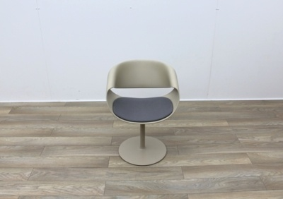Swivel Mocca Reception Chairs