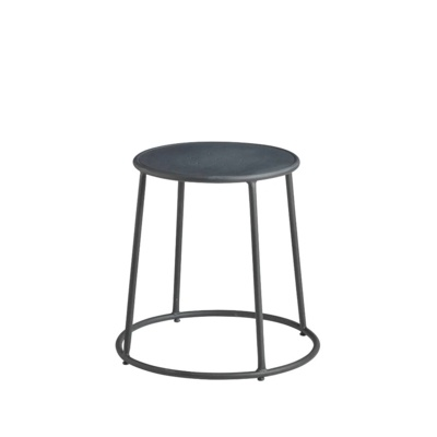 New MAX 45 Raw Industrial Designer canteen café Low Stool
