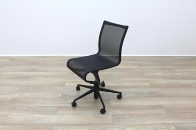 Alias Rollingframe+ 457 Black Mesh Office Task Chairs