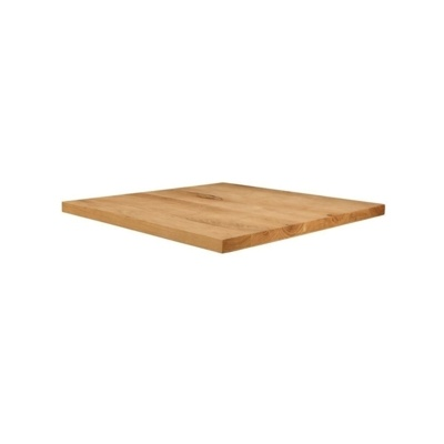 New Unfinished Character Superior Grade Oak 700mm Square Table Top