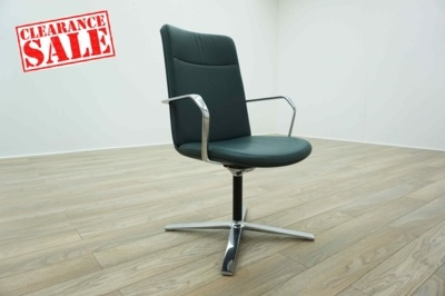 New Cancelled Order - OrangeBox Calder High Back Leather Office Reception Chairs