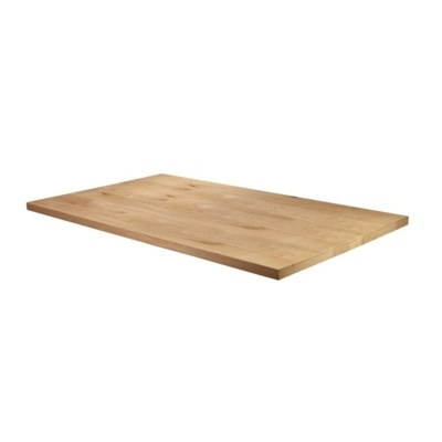 New Unfinished Character Superior Grade Oak 1800mm x 750mm Rectangular Table Top