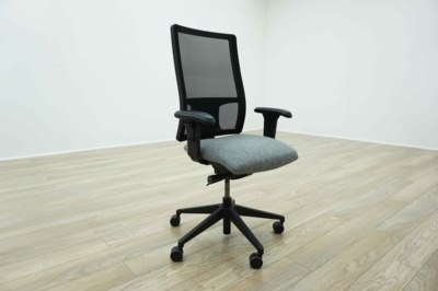 Re-Upholstered in Any Colour - Mesh Back Multifunction Office Task Chairs