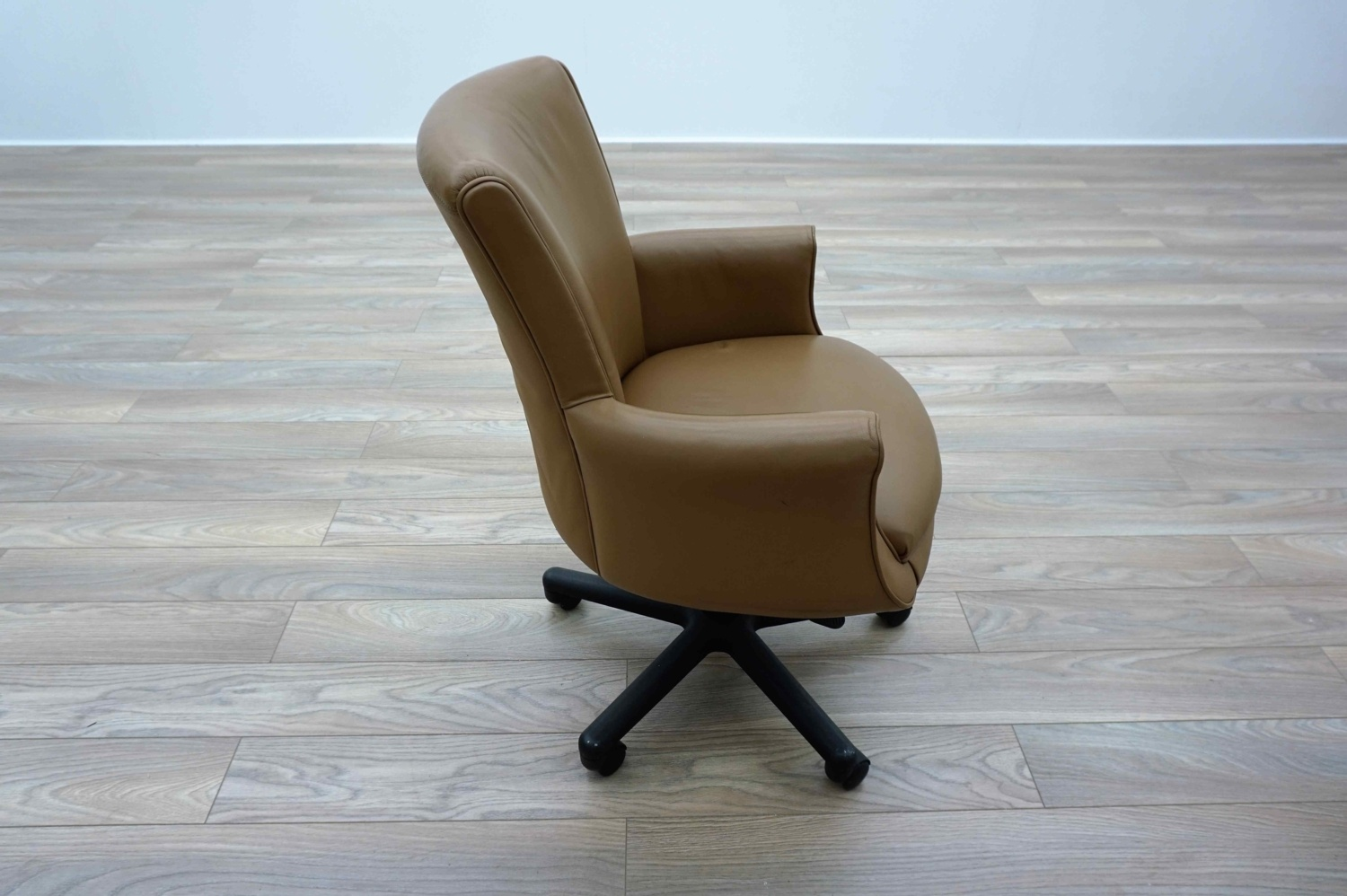 Bernhardt Tan Leather Executive Office Meeting Chairs Ebay