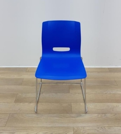 Allemuir Blue Stacking Chairs