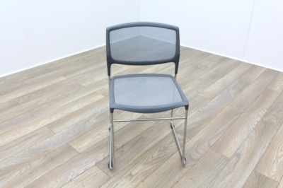 Daylight Grey Mesh Canteen Chair Made in US