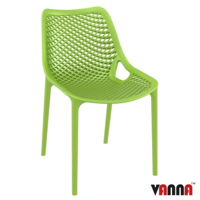 New Green Reinforced Polypropylene & Glass Fibre Stacking Office Canteen Cafe Bistro Chairs