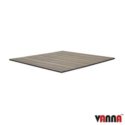 New EXTREMA Zebrano 790mm Square Table