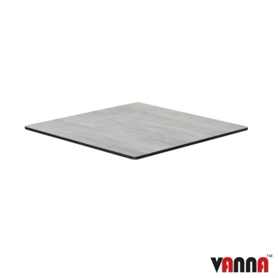 New EXTREMA Cool Cement 690mm Square Table