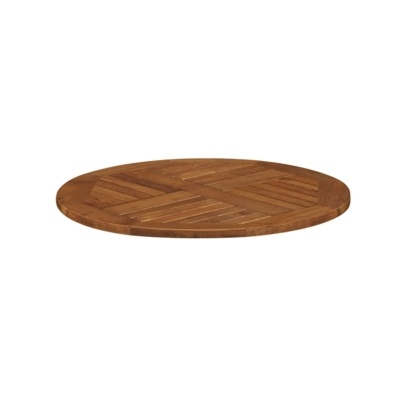 New INSIGNIA Solid Robinia Wood 700mm Round Table Top