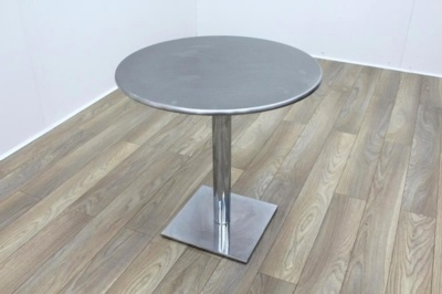 Metal Coated Round Table 750mm