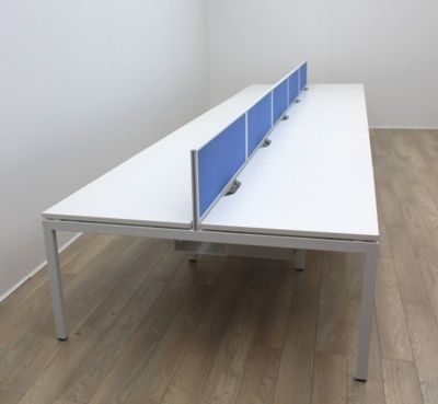 White Bench Desking