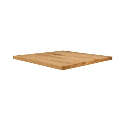 New Unfinished Character Superior Grade Oak 800mm Square Table Top