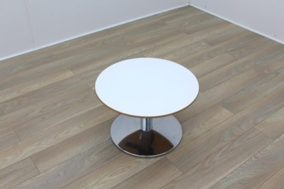 Allermuir White Top Cherry Edge Coffee Table