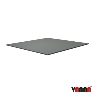 New EXTREMA Anthracite 790mm Square Table