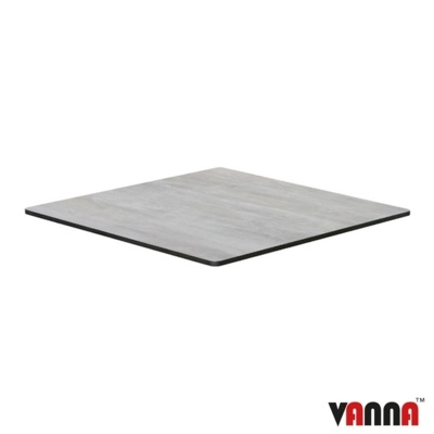 New EXTREMA Cool Cement 790mm Square Table