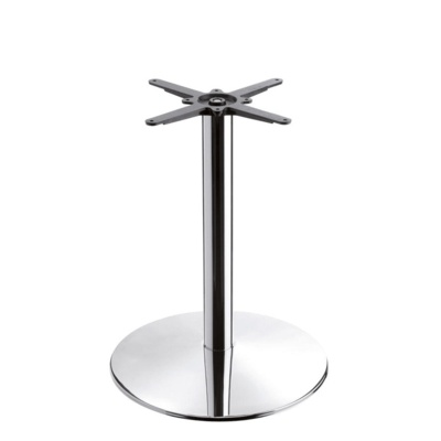 New HAMPTON Chrome Large Round Dining Table Base