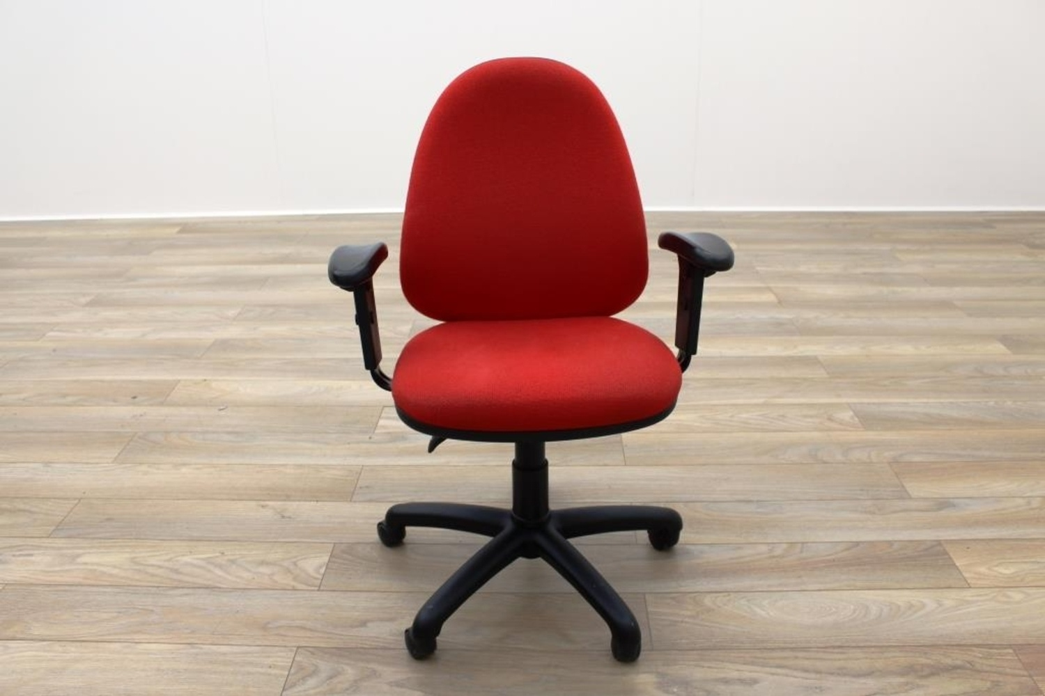 red fabric office task chairs ebay