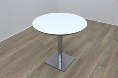 White Round Table 800mm