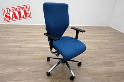 Orangebox X10 Blue Fabric Office Task Chairs