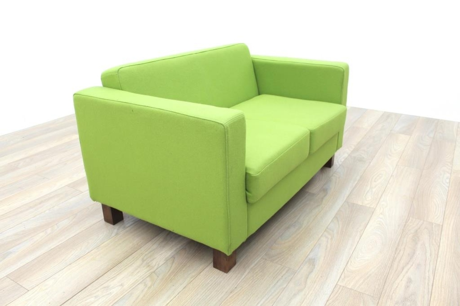 Lime green fabric funky office reception sofa ebay for Lime green sofa