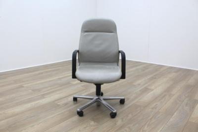 Wilkhahn FS Line Grey Leather Executive Office task Chair