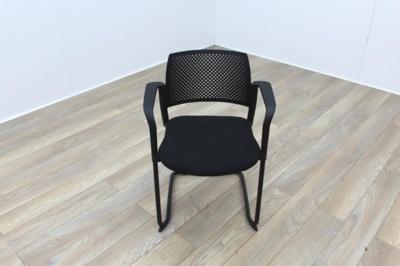 Torasen Polymer Back Black Fabric Seat